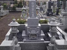 羽村市営霊園写真