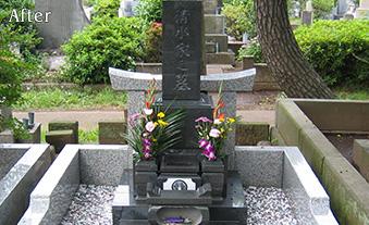 都営青山霊園写真